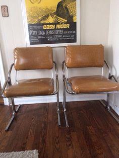 Mid century modern Milo Baughman style chairs in Radburn, Fair Lawn, NJ 07410, USA ~ Krrb