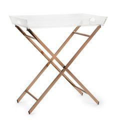 Classy clinton acrylic tray table