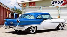 "haywire56:  ""57 Oldsmobile http://ift.tt/2n2OTHu  """