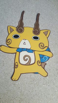 Yokai Watch party decorations.