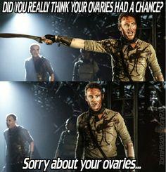 Tom Hiddleston, Coriolanus, ovaries...done lol