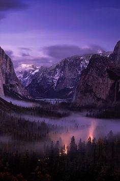 Bridal Valley Fog, California, by Matt Granz, on 500px.
