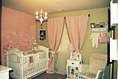 Vintage nursery idea