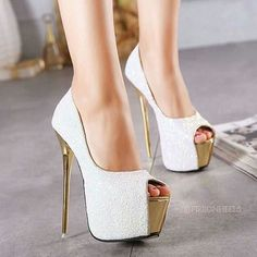Sequins Platform Women Fashion Peep Toe High Heels Shoes Cora High Heels Rae Hugh on Grey Point Toe Stiletto Metal Decoration Fashion High-Heeled Shoe Tan High Heels, High Heels Stilettos, Peep Toe Heels, Womens High Heels, Stiletto Heels, High Shoes, Shoes Heels, Heels Outfits, Sandals Outfit