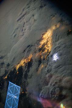 Lightning Over Southern California (NASA, International Space Station, 07/21/13) | Flickr - Photo Sharing!