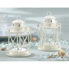 Kate Aspen By the Sea Lighthouse Metal Tealight Holder