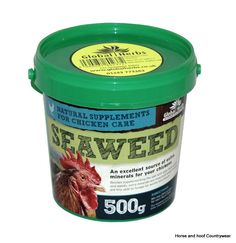Global Herbs Poultry Seaweed 500g An excellent source of extra minerals for your chickens Besides supplementing the diet with daily fresh greens