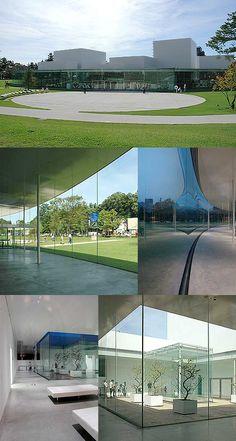 21st Century Museum of Contemporary Art, Kanazawa, JAPAN  www.arch-hiroshima.net/a-map/ishikawa/21museum.html