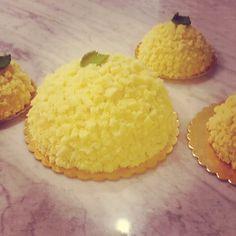 E domani queste bellissime e buonissime torte mimose per festeggiare le donne! #mimosa #8marzo #festadelledonne #avellino #briciole
