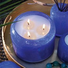 Chesapeake Bay candles Cobalt Water and Driftwood