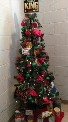 Mechanic shop Christmas tree