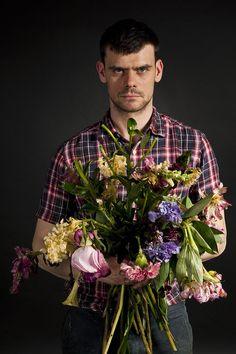 Florist Mark Colle