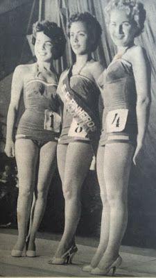 .: SESSÃO NOSTALGIA - As rainhas da beleza brasileira de 1954  Elfriede, A Mais Bela Desportista de São Paulo 1954