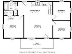 16x40 cabin floor plans picsant homes pinterest x for 16x40 cabin floor plans