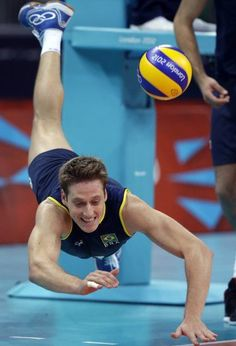 Murilo Endres - Brazilian volleyball player.