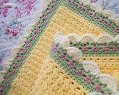 Tiramisu Crochet Baby Blanket Is A Free Pattern