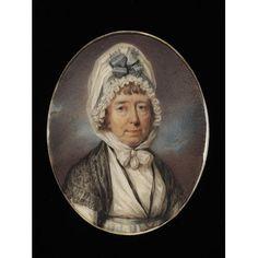 Portrait miniature of Juliet Anne Roberts, born Cozens (c.1755-c.1837) c.1797. V E.722-2005