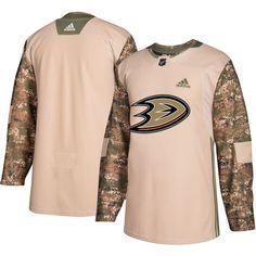 adidas Men's Anaheim Ducks Camo Authentic Pro Home Jersey, Size: 52, Team