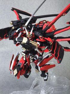 "Full Armor Gundam Astray ""MURAMASA""Modeled by Blandon*Base kit used for this custom build is the MG Gundam Astray*"