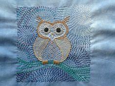Kantha owl