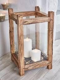 Картинки по запросу decorative wooden candle lamp