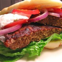 "Gyros Burgers I ""Very, very good. The spice combination is spectacular."""