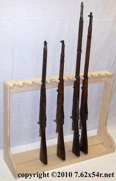 Homemade Gun Racks