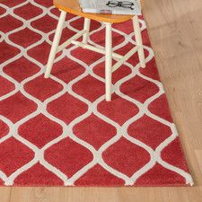 Sommerfield Red Area Rug