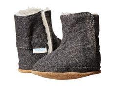 Robeez - Morgan Bootie Soft Soles (Infant/Toddler) (Grey) Girls Shoes