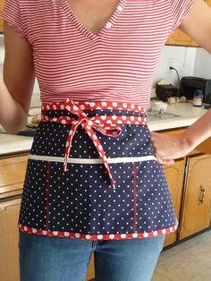 patriotic polka in the kitchen.