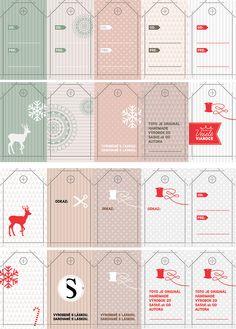 Vianočné visačky od nás pre vás / SAShE.sk » SAShE.sk - slovenský handmade dizajn