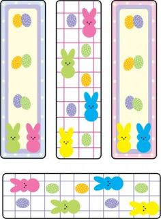 Bookmarks Peeps Bookmarks