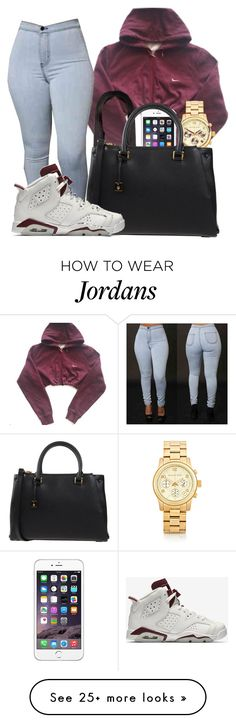 Exchange//Bryson Tiller by bestdressed101 on Polyvore featuring NIKE, Michael Kors and MCM