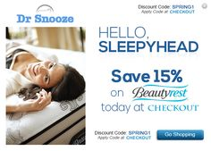 "Discount Code: "" SPRING1 "" (Apply Code at checkout) - Save upto $500 on Beauty Rest Mattresses - Click here for more details - http://www.drsnooze.com/brands/simmons-beautyrest.html  Free Delivery, Free Set Up and Free Removal"