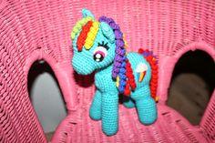 Opskrift på hæklet My Little Pony