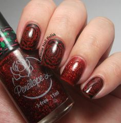 The Clockwise Nail Polish: Born Pretty BP-L001 Stamping Plate Review & Penélope Luz Mary's Love