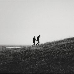 black and white, boy and girl, walking, hill, landscape Midna, Photo Couple, Couple Photos, The Scorpio Races, Bellarke, Couple Aesthetic, Jolie Photo, Couple Photography, Photography Tools