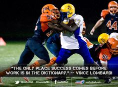 Another great Vince Lombardi quote ...