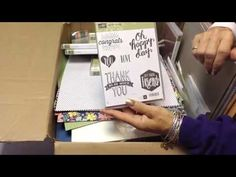Stampin' UP! 2016-17 Product PrePurchase Unboxing - RemARKable Creations #stampinup #remarkablycreated