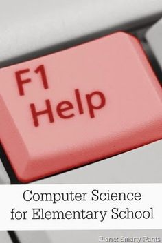 Getting Started with Computer Science. I think it is so important these days to have at least a basic knowledge of computer science, and this post has great resources. Computer Class, Computer Coding, Computer Science, Learning Resources, Fun Learning, Teaching Kids, Science Activities For Kids, Science Experiments, Computational Thinking