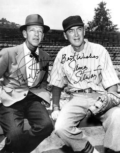 Fred Astaire and James Stewart