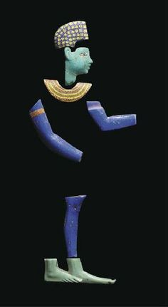 Egyptian cast and fused mosaic glass inlays, 5th-1st centuries, BCE.