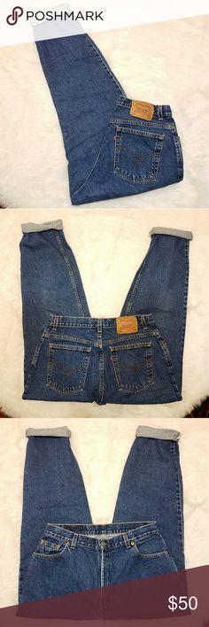 """Vintage 550 Levis Jeans Waist Size 32  Great Condition  Inseam 29"""" Levi's Jeans"""