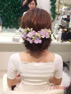 美人花嫁さまの大人可愛い3スタイル♡♡リハ篇 | 大人可愛いブライダルヘアメイク 『tiamo』 の結婚カタログ