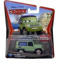 Disney / Pixar CARS 2 Movie 155 Die Cast Car #17 Miles Axlerod by Mattel Toys, http://www.amazon.com/dp/B0051XI9FO/ref=cm_sw_r_pi_dp_vGWGsb0NXY0MR