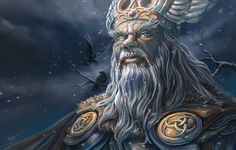 Odin's quest for wisdom is never-ending, and he is willing to pay any price, it seems, for the understanding of life's mysteries that he craves more than anything else. On one occasion, he hanged himself, wounded himself with his spear, and fasted from food and drink for nine days and nights in order to discover the runes.