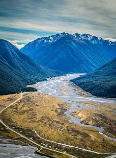 Waimakariri river - bealy spur (Arthur's pass) tramp & Hooker valley (mt cook)