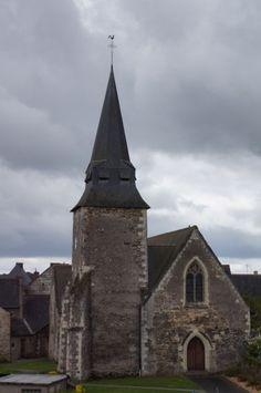 chapelle du Château du Plessis-Macé. Pays de la Loire