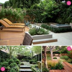 Curbly.com  10 Drool-Worthy Patios and Decks!     These are very calming to me...