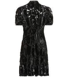 60b5b650fc01 Ruffled lace-panelled silk dress | Giambattista Valli ...